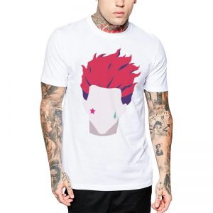 Polera Hunter X Hunter Hisoka Icon Blanca Get Out