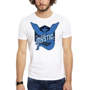 Polera Pokemon Go Team Mystic Winter Blanca Get Out