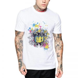 Polera Colorful Music Blanca Get Out