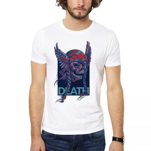 Polera Viking Death Blanca Get Out