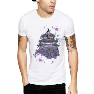 Polera Violet Temple Blanca Get Out