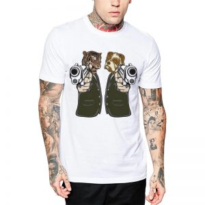 Polera Wild Fiction Blanca Get Out