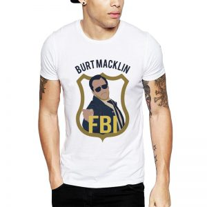 Polera Burt Macklin FBI Blanca Get Out