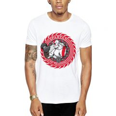 Polera Spartan In Training Blanca Get Out