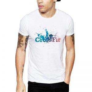 Polera Crossfit Splash Group Blanca Get Out