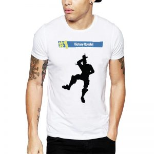 Polera Fortnite #1 Victory Royale Blanca Get Out