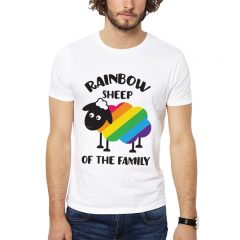 Polera Rainbow Sheep Of The Family Blanca Get Out