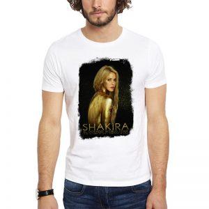 Polera Shakira Concierto Chile 2018 El Dorado Blanca Get Out