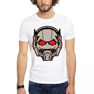 Polera Ant-Man Mask Blanca Get Out