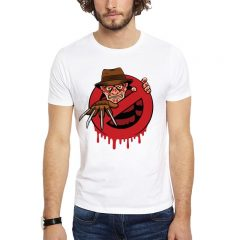 Polera Freddy Ghost Busters Blanca Get Out