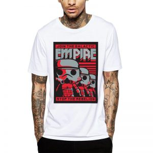 Polera Star Wars Join The Empire Blanca Get Out