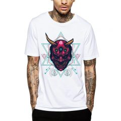 Polera Demonic Geometry Blanca Get Out