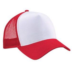 Jockey Trucker Malla Rojo
