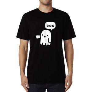 Polera Disapproval Ghost Algodón Get Out