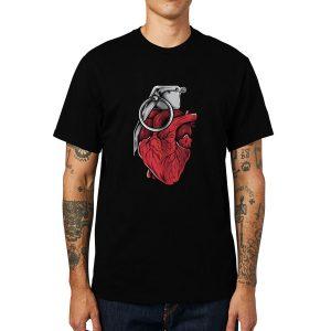 Polera Heart Grenade Algodón Get Out