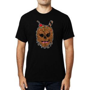 Polera Ice Cream Skull Algodón Get Out