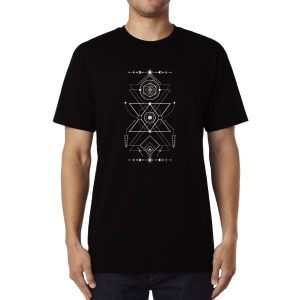 Polera Navajo Geometry Algodón Get Out