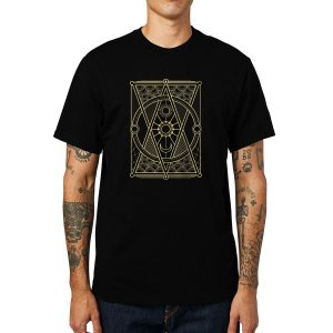 Polera Sun And Moon Geometry Algodón Get Out