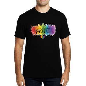Polera Watercolor Pride Algodón Get Out