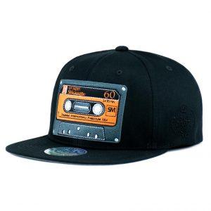 Gorro Cassette Negro Snapback DoubleAA Premium AA200299