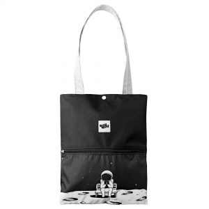 Bolso Tote Luna Negro Get Out