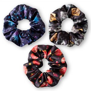 Set 3 Collets Scrunchies Espacio Get Out