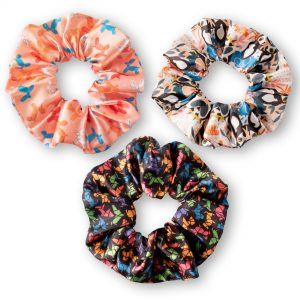 Set 3 Collets Scrunchies Perros Get Out
