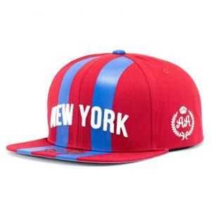 Gorro New York Barras Rojo DoubleAA Premium AA210338