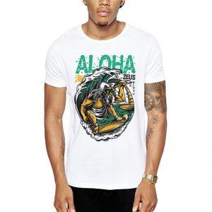 Polera Aloha Zeus Blanca