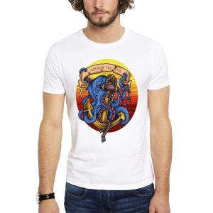 Polera Anchor The Soul Blanca