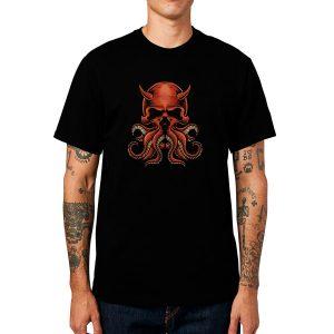Polera Devilish Octopus Algodón Get Out