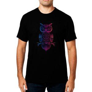Polera Owl Stare Algodón Get Out