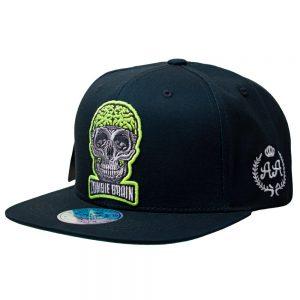 Gorro Zombie Brain Negro DoubleAA Premium AA210342