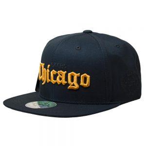 Gorro Chicago Deers Golden Negro DoubleAA Premium AA210343