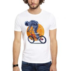 Polera Astro BMX Blanca