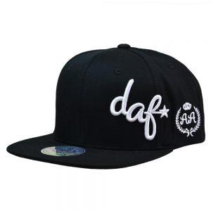 Gorro DAF Side Logo Negro DoubleAA Premium AA210362