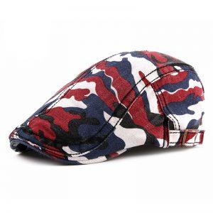 Boina Camuflada Militar Clásica Rojo