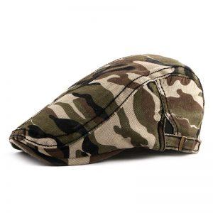 Boina Camuflada Militar Clásica Verde